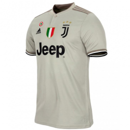 18-19 Juventus Away Gray Soccer Jersey Shirt,