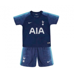 18-19 Tottenham Hotspur Away Navy Children's Jersey Kit(Shirt+Short)