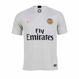 18-19 PSG Away Light Gold Soccer Jersey Shirt