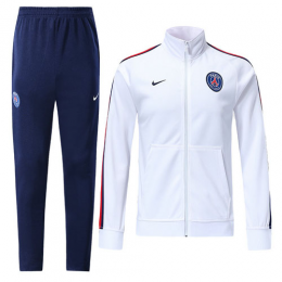 18-19 PSG White Training Kit(Jacket+Trousers)