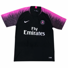 18-19 PSG Black&Pink Training Jersey Shirt