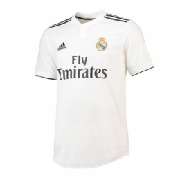 18-19 Real Madrid Home White Soccer Jersey Shirt(Player Version)