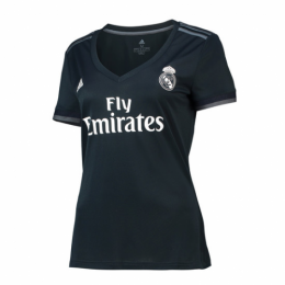 18-19 Real Madrid Away Dark Green Women's Jersey Shirt