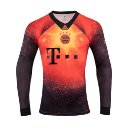 18-19 Bayern Munich EA Sports Brown Long Sleeve Jerseys Shirt