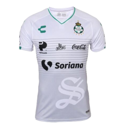 18-19 Santos Laguna Third Away White Soccer Jerseys Shirt