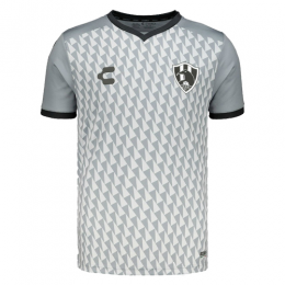 2019 Club De Cuervos Third Away Gray&White Jerseys Shirt