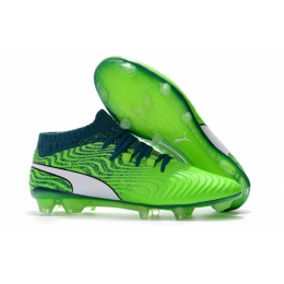 Puma One 18.1 Syn FG Soccer Cleats-Fluorescent Green,Puma Soccer boot,Soccer Cleat,Soccer Shoes,Soccer Shoe,Soccer Boots,Shoe,Shoes,Soccer Cleats,Puma Boots