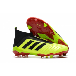 AD Predator 18+ without latchet FG boots-Fluorescent Green