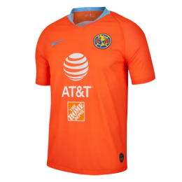 2019 Club America Third Away Orange Soccer Jerseys Shirt