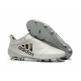 AD X 17+ Purechaos FG Soccer Cleats-Grey,Adidas Soccer boot,Soccer Cleat,Soccer Shoes,Soccer Shoe,Soccer Boots,Shoe,Shoes,Soccer Cleats