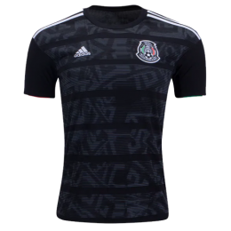 2019 Mexico Gold Cup Home Black Soccer Jerseys Shirt(Player Version)