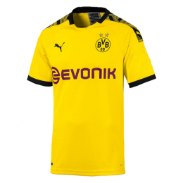 19-20 Borussia Dortmund Home Yellow Soccer Jerseys Shirt,