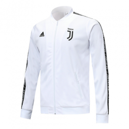 19-20 Juventus White V-Neck Training Jacket,