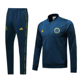 2019 World Cup Colombia Navy V-Neck Training Kit(Jacket+Trousers),