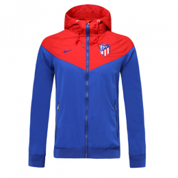 19-20 Atletico Madrid Blue Woven Windrunner	