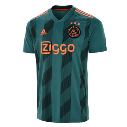 82bda35b60e 19-20 Ajax Away Green Soccer Jerseys Shirt