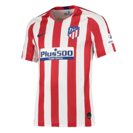 19-20 Atletico Madrid Home Red&White Soccer Jerseys Shirt Men soccer jersey,Fans soccer jersey, Red&White jersey, Nike jersey, Cheap soccer Shirt,