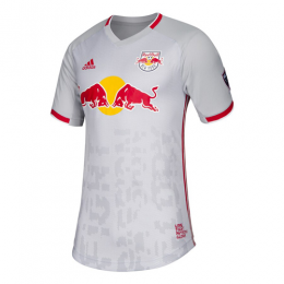 2019 New York Red Bulls Home Gray Soccer Jerseys Shirt(Player Version)