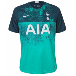 18-19 Tottenham Hotspu Third Away Green Soccer Jersey Shirt(Player Version)	,