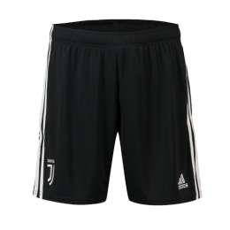 19-20 Juventus Home Black Soccer Jerseys Short