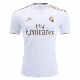 19-20 Real Madrid Home White Soccer Jerseys Shirt,
