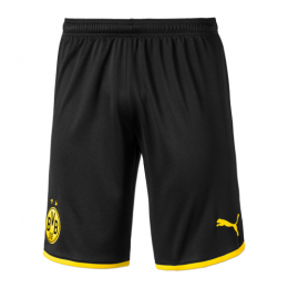 19-20 Borussia Dortmund Home Black Jerseys Short