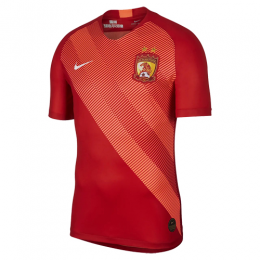 19-20 Guangzhou Evergrande Home Red Soccer Jerseys Shirt