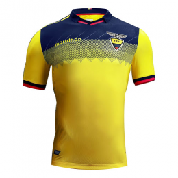 2019 Ecuador Home Yellow Soccer Jerseys Shirt