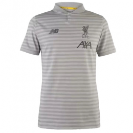19-20 Liverpool Core Polo Shirt-Gray