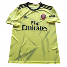19-20 Arsenal Away Yellow Soccer Jerseys Shirt,