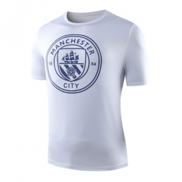 19-20 Manchester City Shatter T Shirt-White