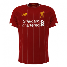 19-20 Liverpool Home Red Soccer Jerseys Shirt