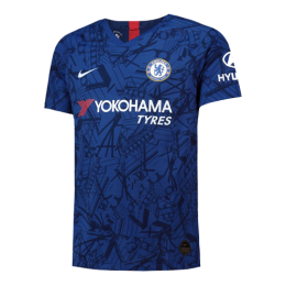 19-20 Chelsea Home Soccer Blue Jerseys Shirt(Player Version)