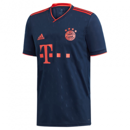 19/20 Bayern Munich Third Away Navy Jerseys Shirt(Player Version),