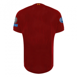 19-20 UCL Liverpool Home Red Soccer Jerseys Shirt