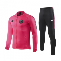 19/20 PSG Pink V-Neck Training Kit(Jacket+Trouser)