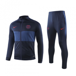 19/20 PSG Navy High Neck Collar Training Kit(Jacket+Trouser)