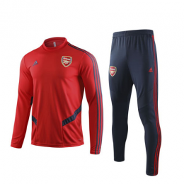19/20 Arsenal Red Sweat Shirt Kit(Top+Trouser)
