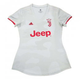 19/20 Juventus Away White Women's Jerseys Shirt