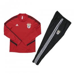 Kids 19/20 Benfica Red Sweat Shirt Kit(Top+Trouser)