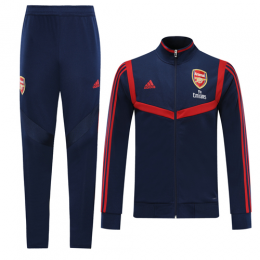 19/20 Arsenal Navy&Red High Neck Collar Training Kit(Jacket+Trouser),