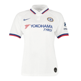 19/20 Chelsea Away White Women's Jerseys Shirt,
