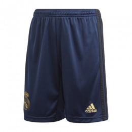 19-20 Real Madrid Away Navy Soccer Jerseys Short,
