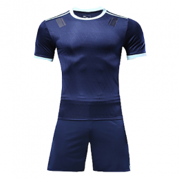 Customize Team Blue Player Version Soccer Jerseys Kit(Shirt+Short)