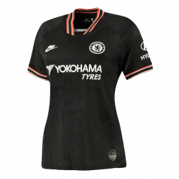 19/20 Chelsea Third Away Black Women's Jerseys Shirt,