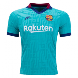 19/20 Barcelona Third Away Blue Soccer Jerseys Shirt(Player Version)