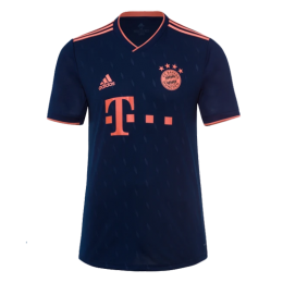 19/20 Bayern Munich Third Away Navy Jerseys Shirt,