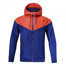 Customize Team Red&Blue Hoodie Windrunner Jacket