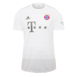 19/20 Bayern Munich Away White Jerseys Shirt,