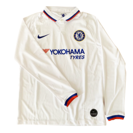 19/20 Chelsea Away White Long Sleeve Jerseys Shirt,